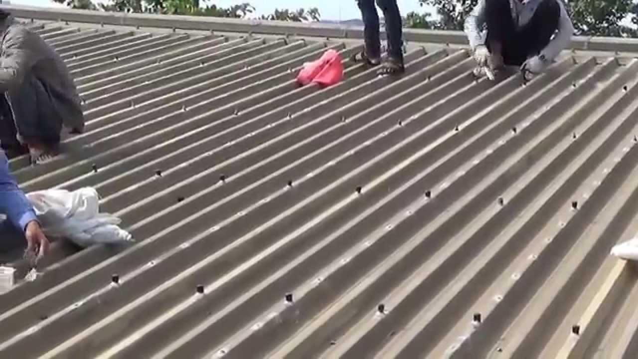 Chống thấm dột mái tôn Phú Nhuận. Mr chiến 0973982818