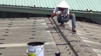 Chống dột mái tôn tại TPHCM. Bảo hành 5 năm